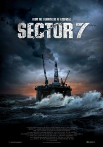 Offshore platform thriller action film
